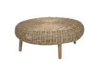 Kuburattan-Tisch, flach, rund