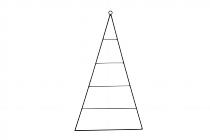 Metall-Dreieck mit Streben