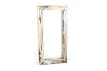 Holz-Rahmen, rechteckig