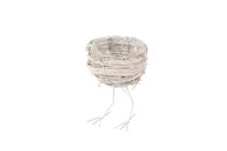 Reben/Splitt-Nest auf Beinen
