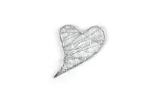 Draht-Herzen