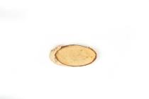 Birkenscheiben, oval