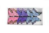 Feder-Schmetterling am Draht