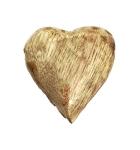 Mangoholz-Herzstreuer