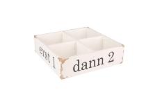 "Antikholz-Kiste, ""erst 1"""