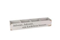"""Antikholz-Kiste, """"Advent, Advent…"""""""