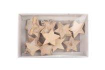 Birkenholz-Sterne