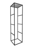 Vierkantmetall-Rahmensäule (30er)