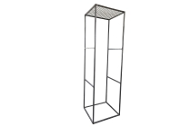 Vierkantmetall-Rahmensäule (25er)