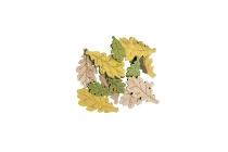 Holz-Eichenblattstreuer, sortiert