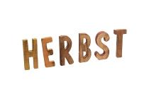 """Holzschrift """"HERBST"""""""