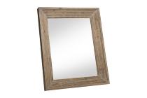 Holz-Spiegel mit dickem Rahmen