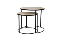 Holz/Metall-Tische