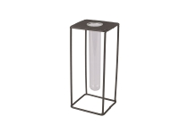 Reagenzglas/Metall-Ständer, quadratisch