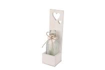 Holz/Glasflasche-Kiste
