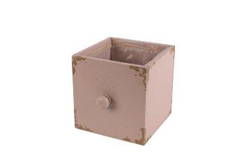 wooden planter drawer, square