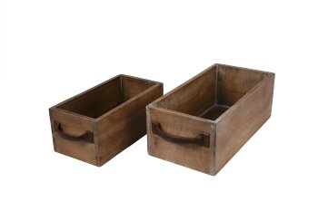 wooden planter drawer, reactangular