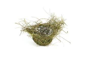 grass planter bowl, nest shape
