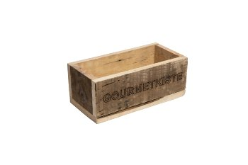 "wooden box ""GOURMET KISTE"""