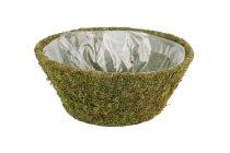 moss basket,round,10,5x24cm