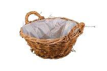 vine basket,round
