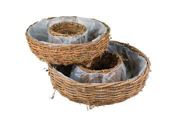 vine ring planter,14x60 +12x55cm