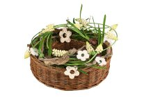 willow wreath with lining