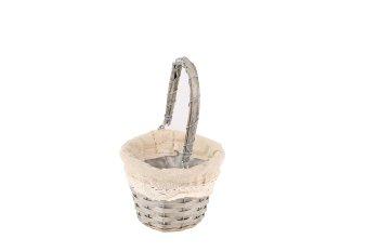 splint bucket, round