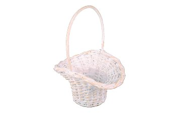 split willow basket w holder
