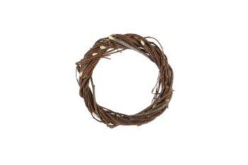 birch/brush wood wreath