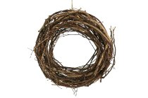 brushwood wreath, loosely wound