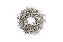 iron bush wreath