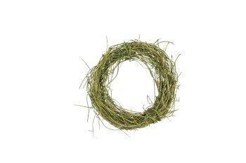 dark grass wreath
