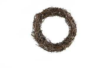 vine wreath,raw