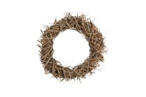 vine wreath,spiky,40x8cm