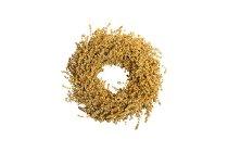 flax wreath