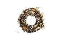 twig/gras easter wreath