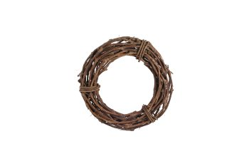 vine wreath, uniflow, thick