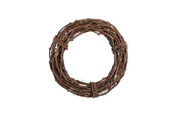 vine wreath, uniflow, thick