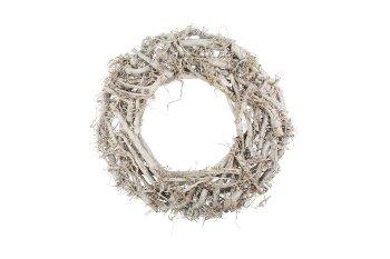 cotton root wreath, flat