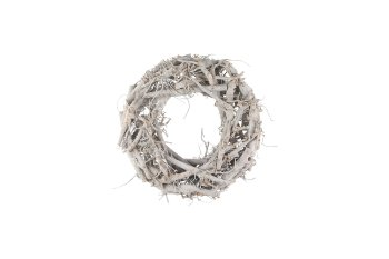 cotton root wreath, thick