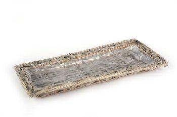 wood chip/willow pad, rectangular