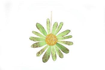 Holzspan-Margerite, rustikal