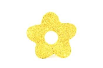 Sisal-Blume mit Loch
