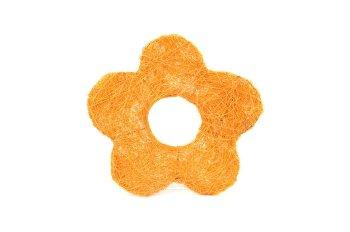sisal,open daisy,orange,10cm