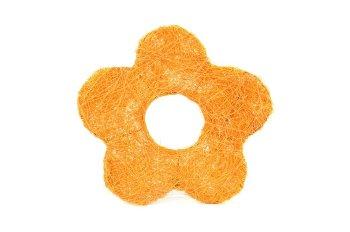 sisal,open daisy,orange,15cm