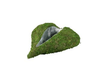 moss heart planter,oblongness