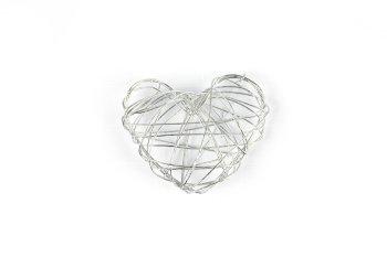 Draht-Herzen, kompakt
