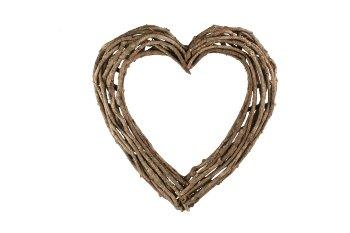 liana heart, open, rustic