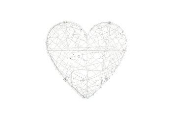 metal/wire heart, folding
